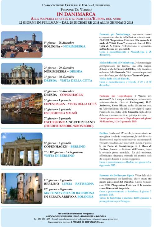 programma di viaggio DRESDA COPENHAGEN