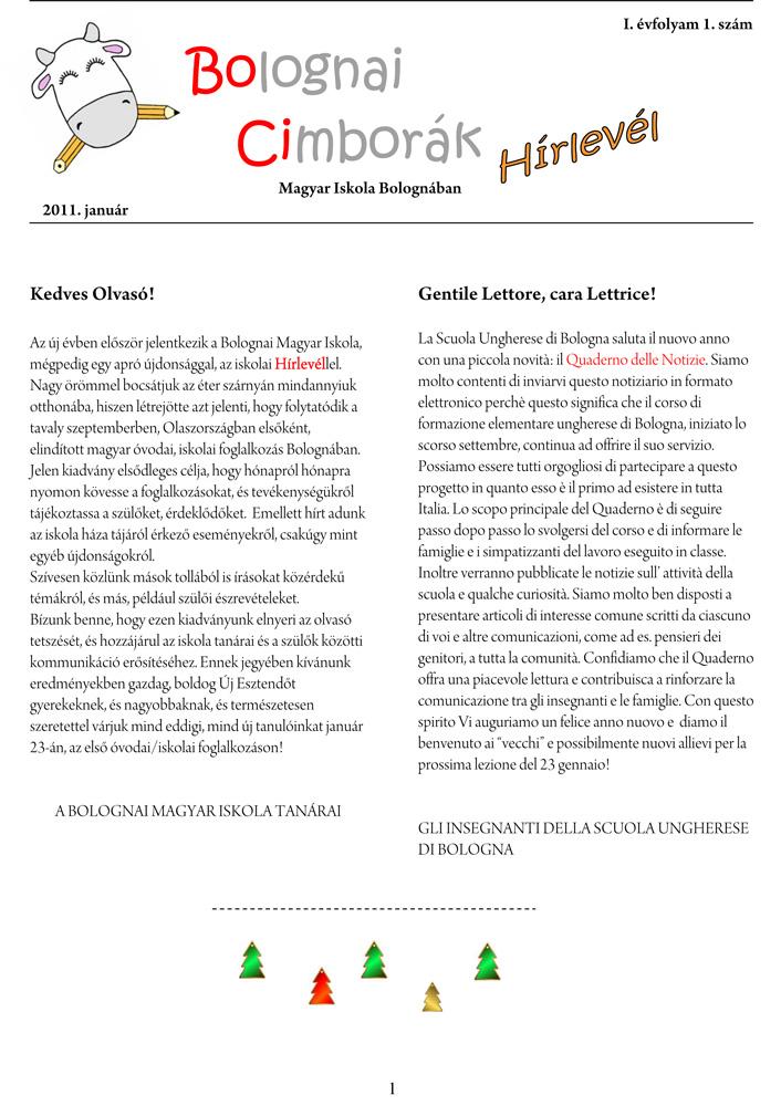 HIRLEVEL - quaderno di notizie