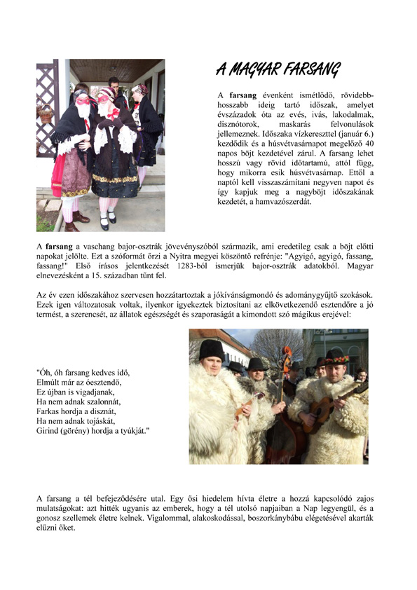 Carnevale ungherese