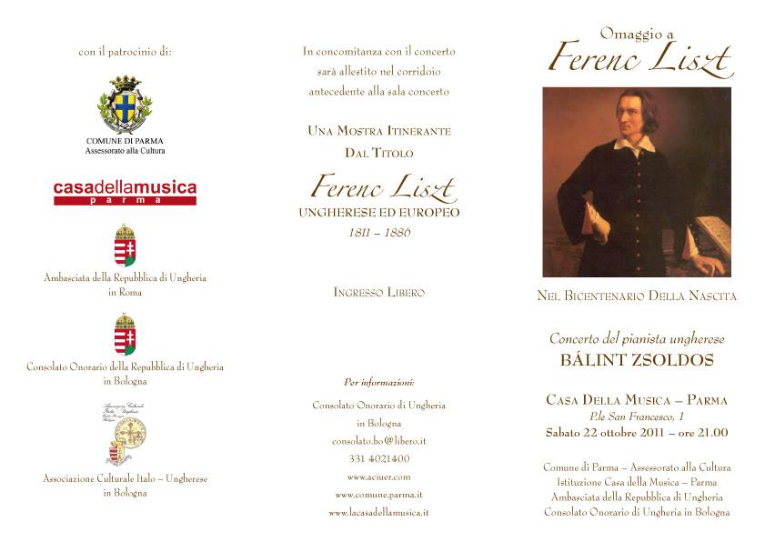 Liszt invito 22 ottobre 2011