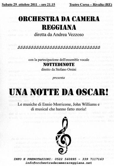 Concerto a Rivalta il 29-10-2011