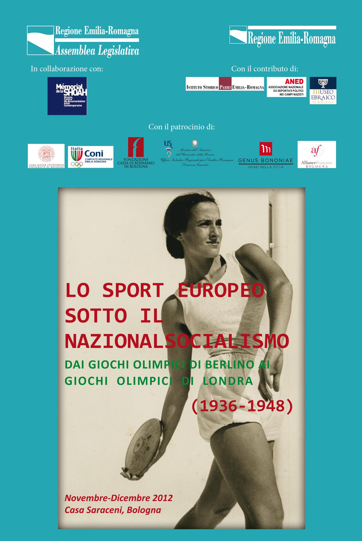 """Mostra e conferenze sul tema """"Lo sport europeo sotto il nazionalsocialismo"""""""