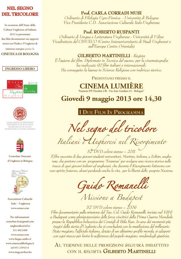 Aciuer invito Tricolore 9 maggio 2013